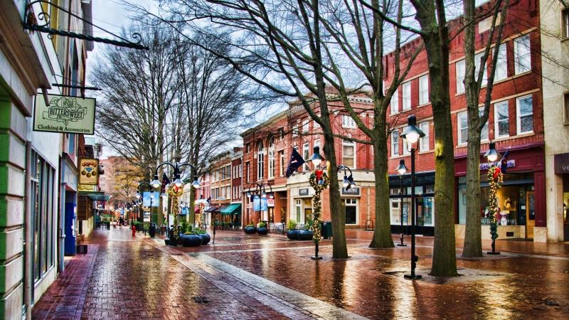 Kawasan Sejarah Charlottesville Virginia